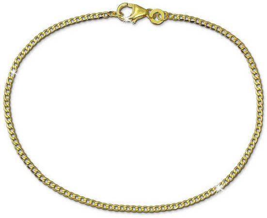 GoldDream Goldarmband »GDA0499Y GoldDream 18,5cm Damen Armband Panzer« (Armbänder), Armbänder für Damen aus 333 Gelbgold - 8 Karat, Farbe: gold