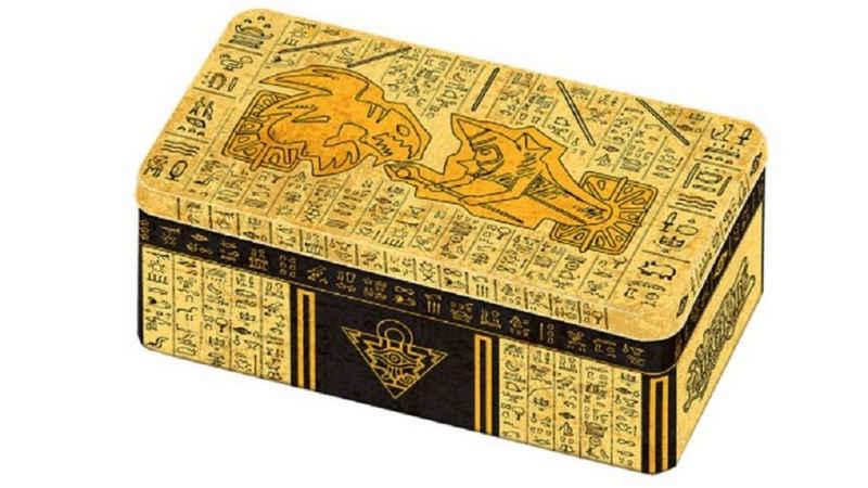 Konami Sammelkarte »Yu-Gi-Oh! - 2021 Tin of Ancient Battles - Sammel-Box deutsch«, deutsch