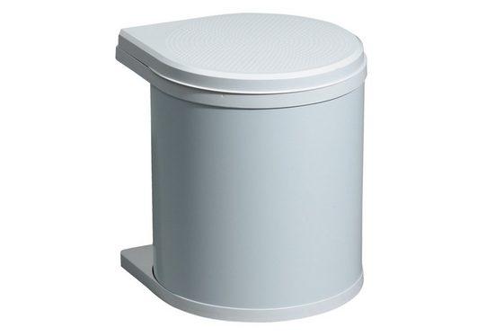 Hailo Einbaumülleimer »Abfallsammler Mono 12 Liter schwenkbar«, für Schrankbreite ab 400 mm mit Drehtür