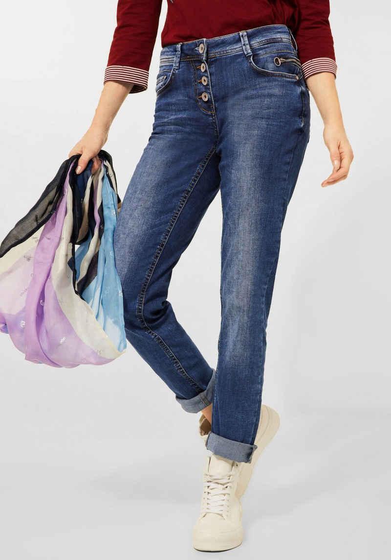 Cecil 5-Pocket-Jeans »Style Charlize« mit aufgesetzten Eingriffstaschen