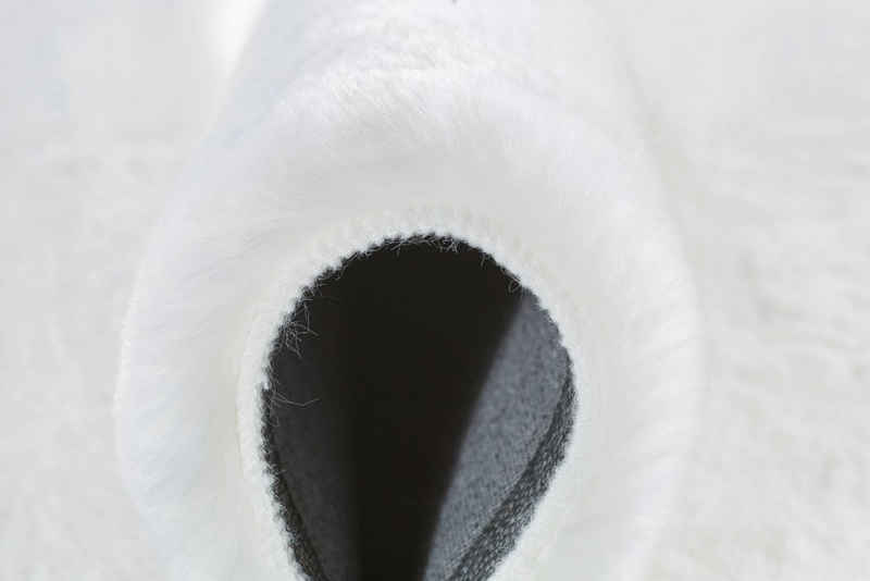 Fellteppich »Novara«, Andiamo, rund, Höhe 35 mm, Kunstfell, sehr weicher Flor