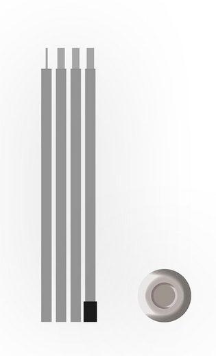 BENT Zeltstange »Bent Steel pole«