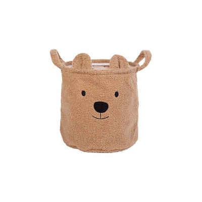 CHILDHOME Aufbewahrungsbox »Aufbewahrungskorb Teddy, beige, 30 x 30 x 30 cm«