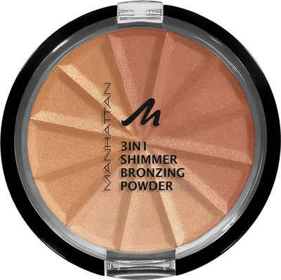MANHATTAN Bronzer-Puder »3in1 Shimmer«