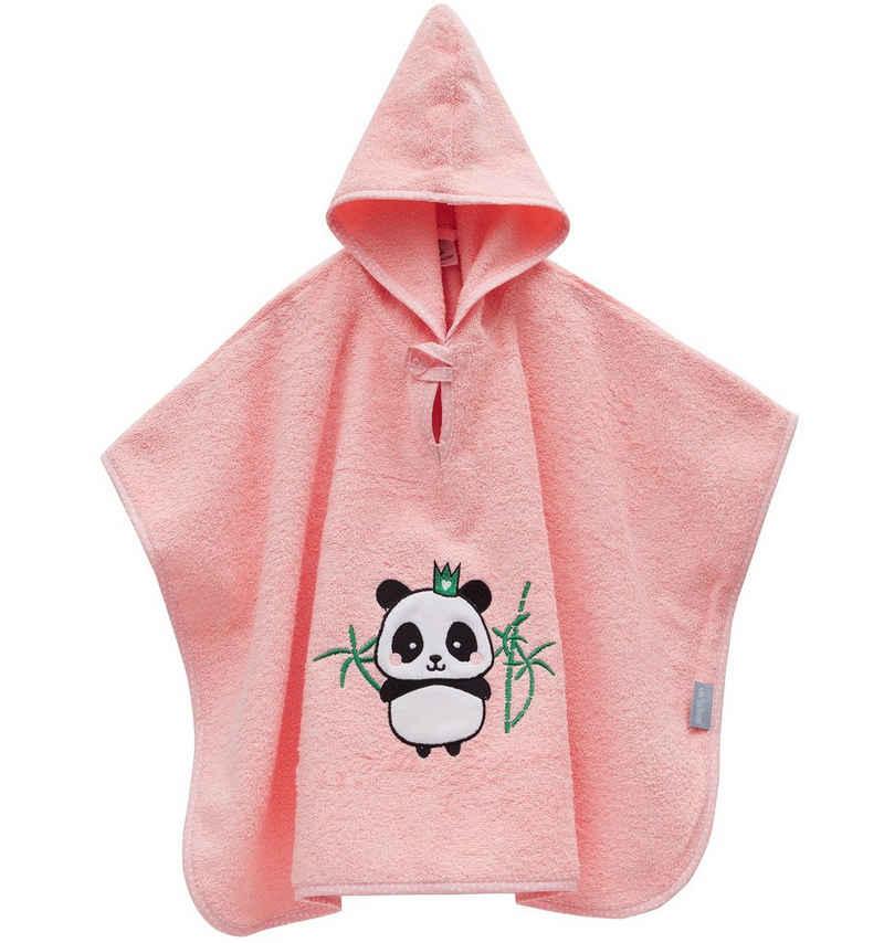 Badeponcho »Panda aus 100% Bio-Baumwolle«, SEI Design, Organic Cotton ab 3 Monate bis 3 Jahre