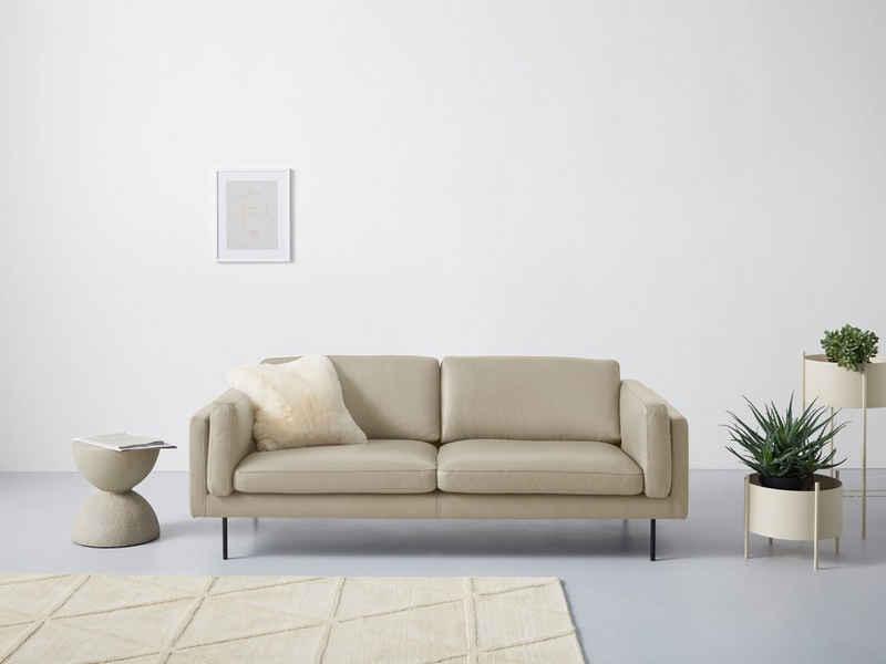 Domicil 2,5-Sitzer »Wind«, inklusive seitlichen Armlehnenkissen