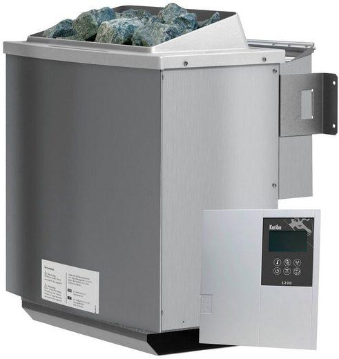KARIBU Saunaofen »4,5 kW Bio-Kombiofen«, inkl. ext. Steuerung »Classic Bio« und 18 kg Saunasteine