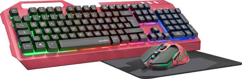 Speedlink »TYALO Illuminated Gaming Deskset - DE layout« Gaming-Tastatur