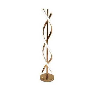 formano LED Stehlampe »LED Lampe Spirale-gold«