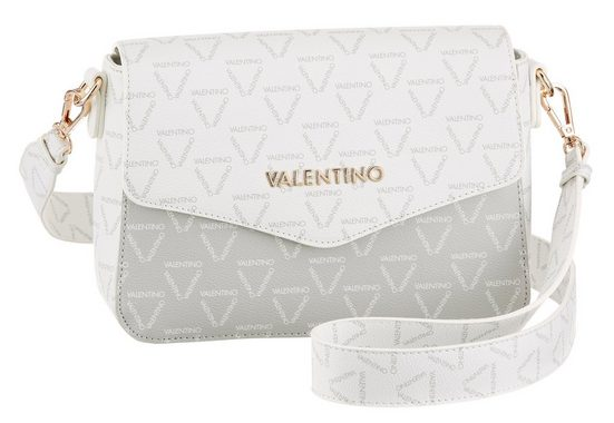 VALENTINO BAGS Mini Bag »Lita«, mit goldfarbenen Details und Allover Logo Print