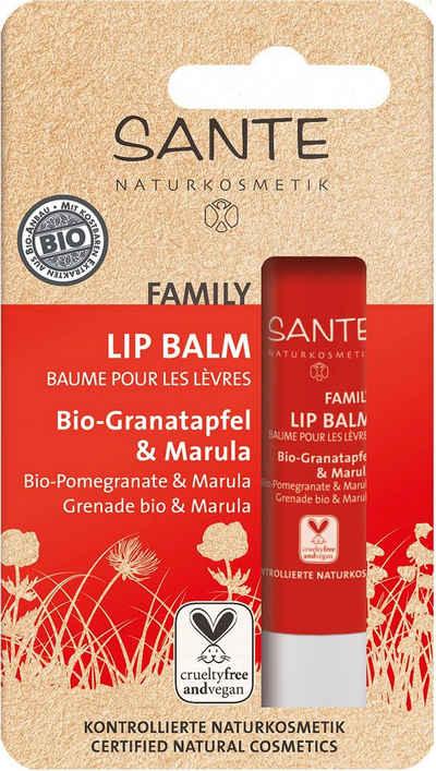 SANTE Lippenpflegemittel »Lip Balm Bio-Granatapfel & Marula«
