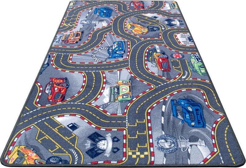 Kinderteppich »Spielteppich Kinder«, HANSE Home, rechteckig, Höhe 6,5 mm, Kurzflor, Straßen-Spielteppich