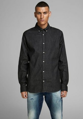 Jack & Jones Jack & Jones Jeanshemd »LEON STRETCH D...