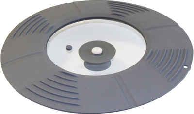 STONELINE Universaldeckel, passt auf sieben verschiedene Pfannen- und Topfgrößen
