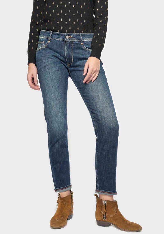 Le Temps Des Cerises Boyfriend-Jeans »SEA« Baumwollstretch Denim für hohen Tragekomfort