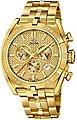 Jaguar Chronograph »UJ853/2 Jaguar Herren Uhr Sport J853/2 Edelstahl«, (Chronograph), Herren Armbanduhr rund, extra groß (ca. 46mm), Edelstahlarmband gold, Bild 1