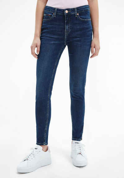 Tommy Jeans Skinny-fit-Jeans »NORA MR SKNY ANKLE ZP BE154 DBST«