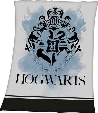 Wohndecke »Harry Potter«, Harry Potter, mit tollem Hogwarts Motiv