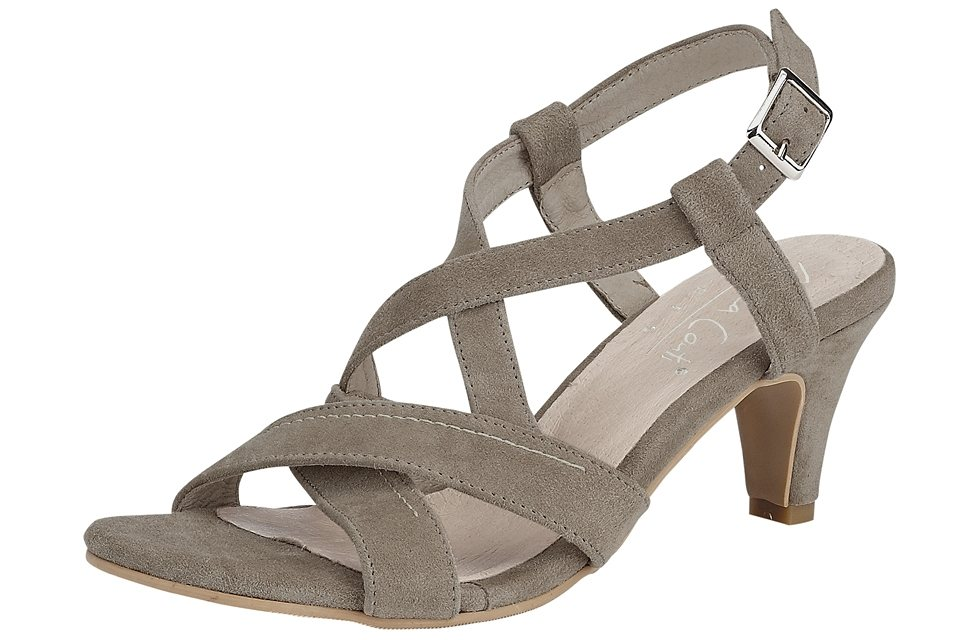 Sandalette in taupe