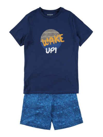 SCHIESSER Kinder Jungen  Pyjama Schlafanzug kurz Gr 152 164 176 *173360* NEU