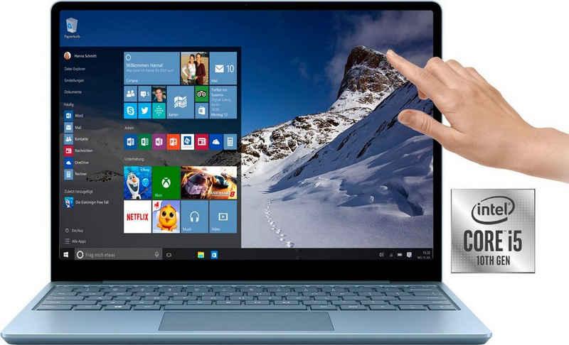 Microsoft Surface Laptop Go i5 Notebook (31,5 cm/12,4 Zoll, Intel Core i5 1035G1, UHD Graphics, 128 GB SSD)
