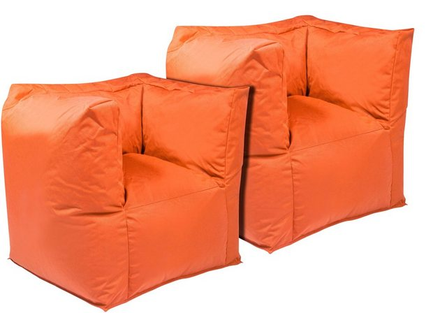 OUTBAG Valley Outdoor-Sessel Sitzsack plus orange