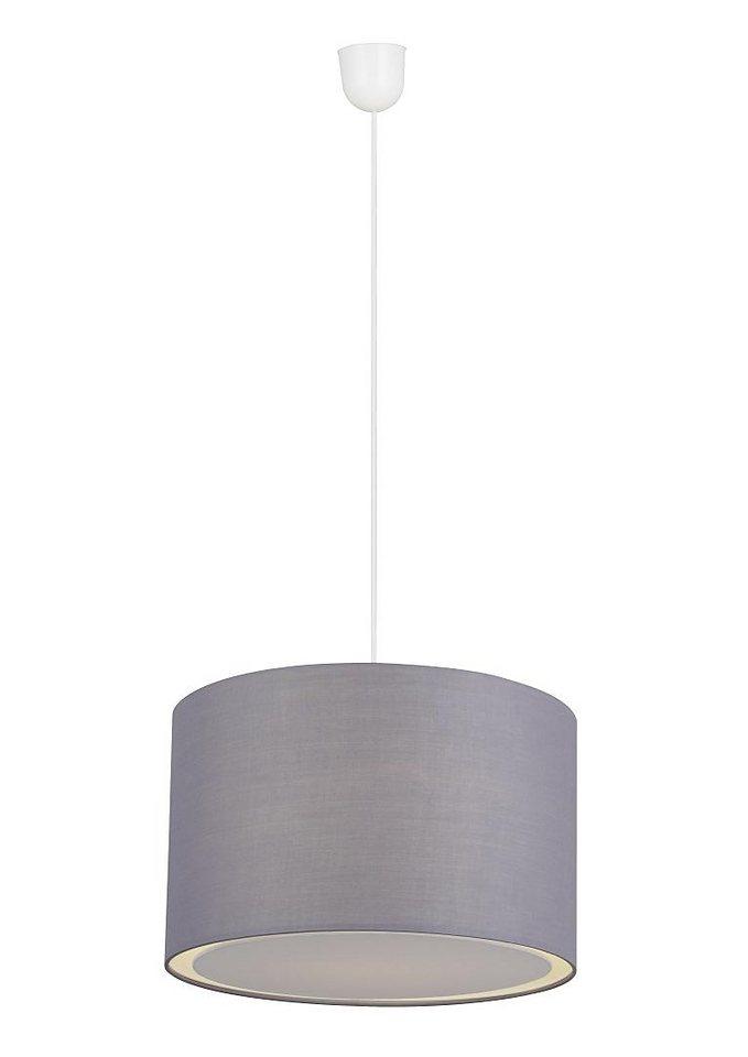 Pendelleuchte, Brilliant Leuchten, »CLARIE« (1flg.) in Grau