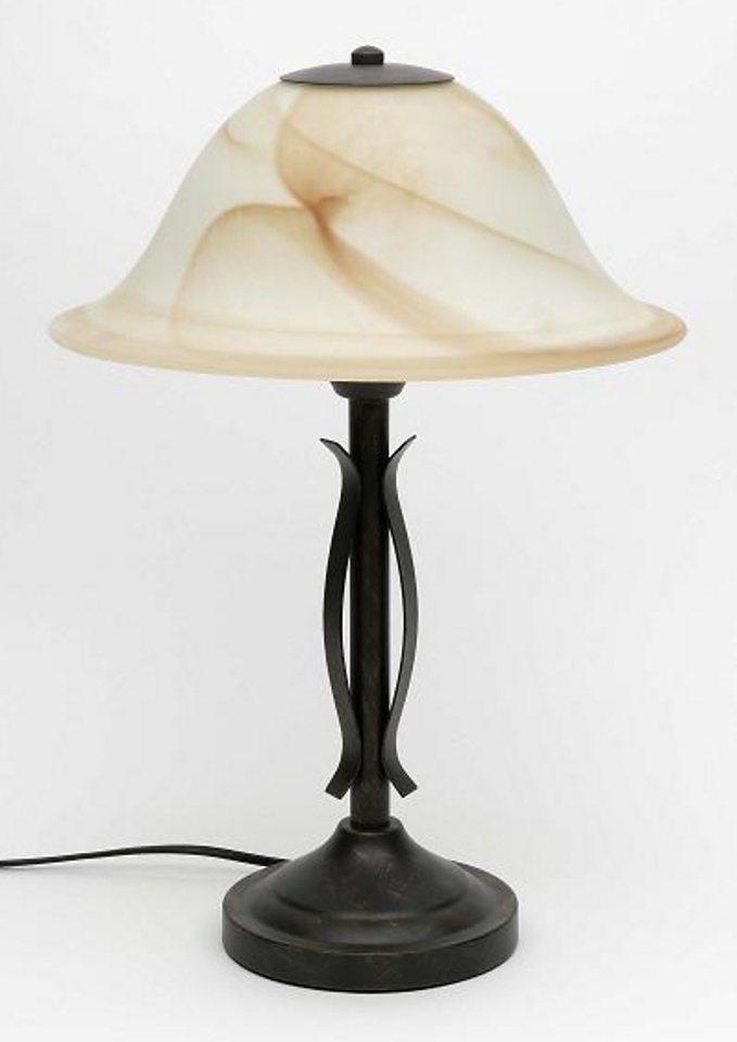 Tischleuchte, Brilliant Leuchten, »FIORE« (1flg.) in schwarz
