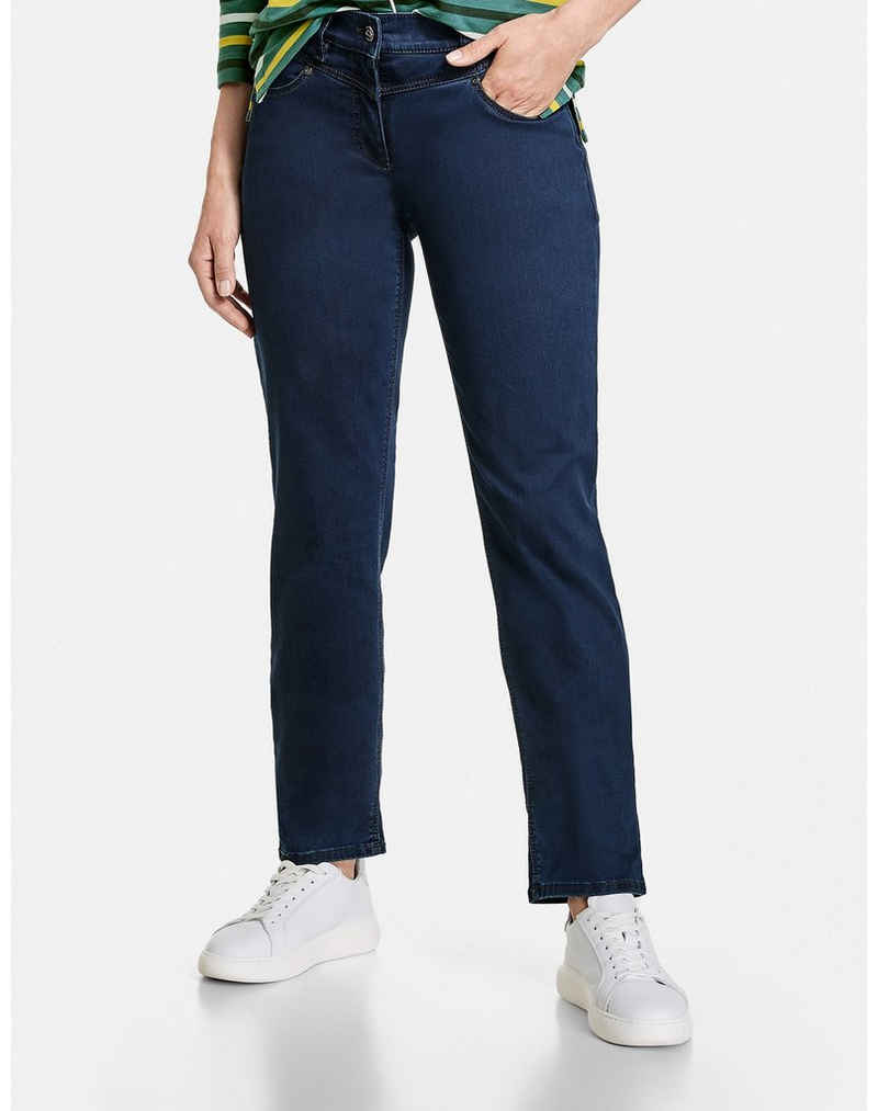 GERRY WEBER Stretch-Jeans »Jeans Best4me Relaxed« (1-tlg) Hose
