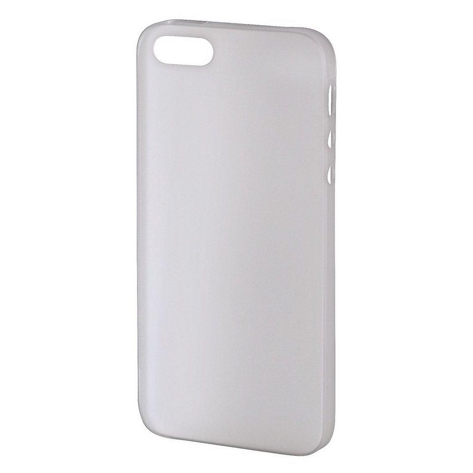 Hama Handy-Cover Ultra Slim für Apple iPhone 5/5s/SE, Weiß in Weiß