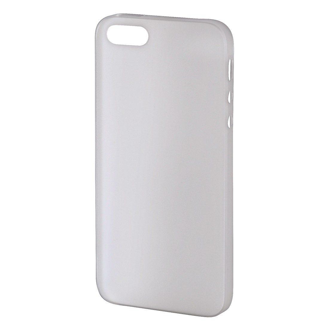 Hama Handy-Cover Ultra Slim für Apple iPhone 5/5s/SE, Weiß
