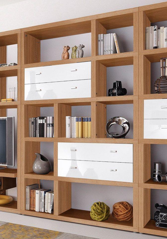 regal hmw m bel breite 123 cm online kaufen otto. Black Bedroom Furniture Sets. Home Design Ideas