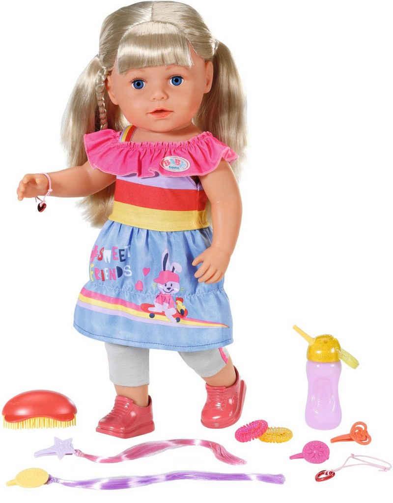 Baby Born Stehpuppe »Sister, 43 cm«, mit lebensechten Funktionen