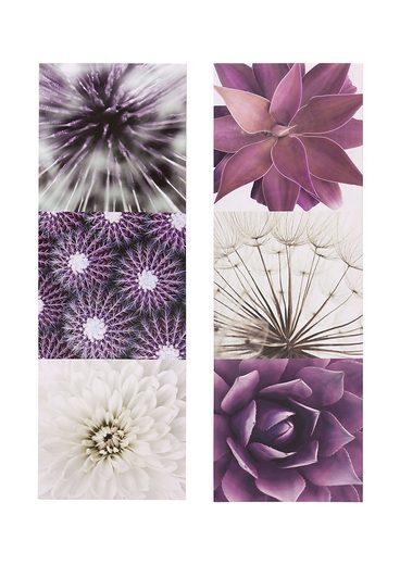 Creativ home Bild »Purple Garden«, 2er Set