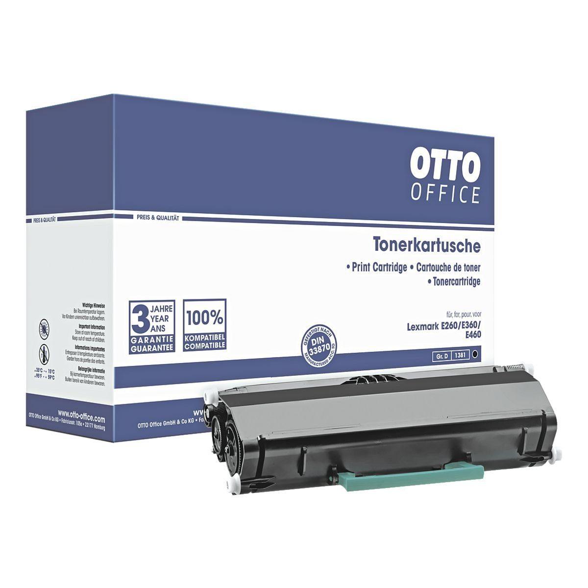 OTTO Office Standard Tonerpatrone ersetzt Lexmark »E260A11E«