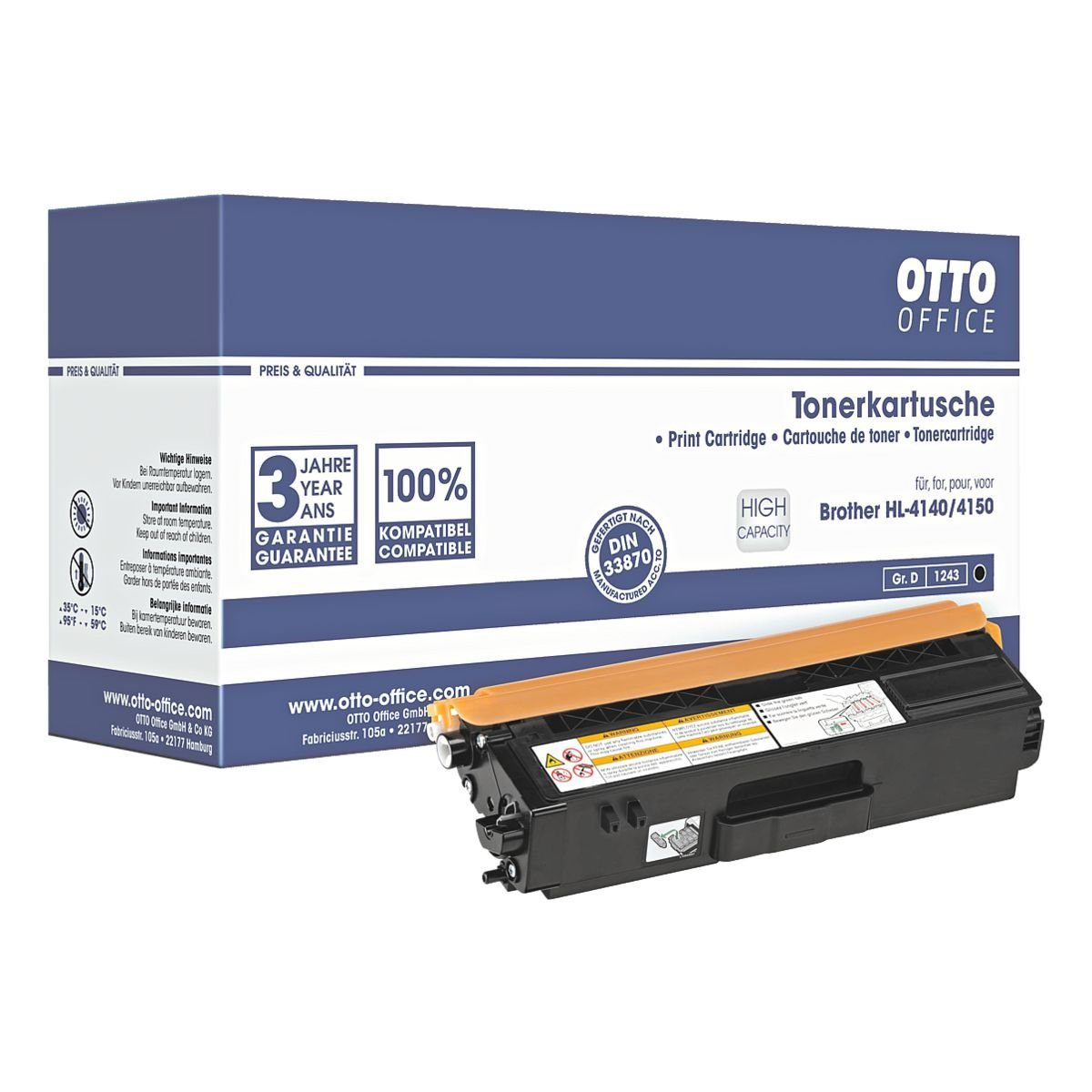 OTTO Office Standard Toner ersetzt Brother »TN-325BK«