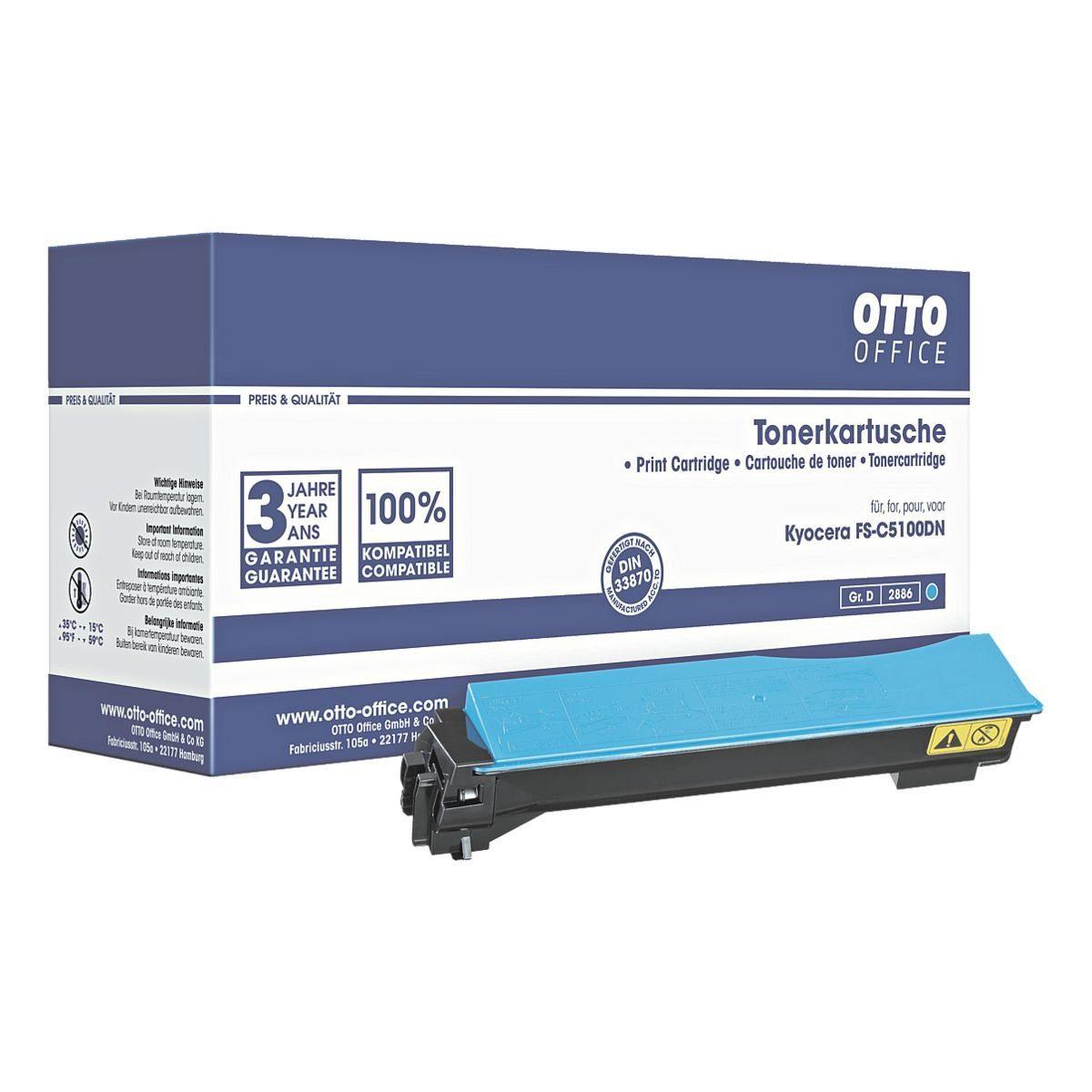 OTTO Office Standard Toner ersetzt Kyocera »TK-540C«