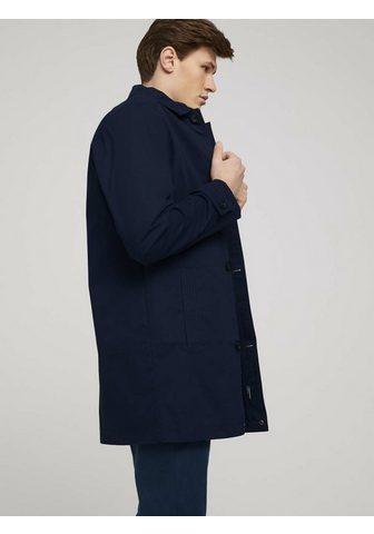 TOM TAILOR Trenchcoat »kurzer paltas iš Twill«