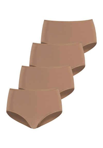 LASCANA Taillenslip (4 Stück) in schönen Hauttönen