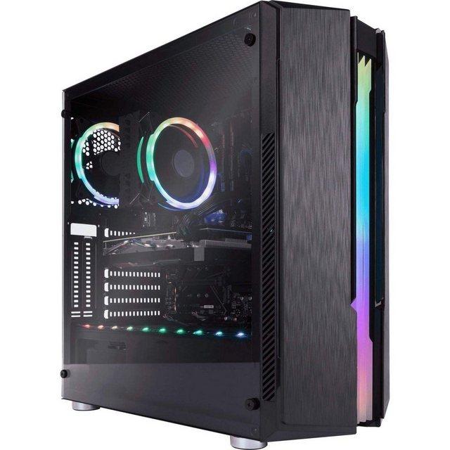 CAPTIVA Highend Gaming I57-488 Gaming-PC Intel Core i9 10900K, RTX 3070, 16 GB RAM, 1000 GB HDD, 480 GB SSD, Luftkühlung