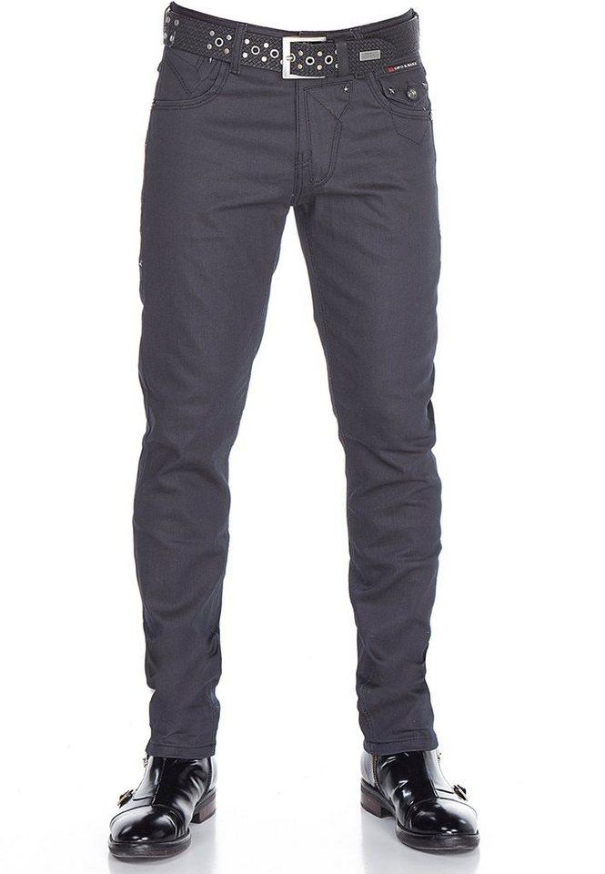 cipo & baxx -  Bequeme Jeans »CD398« im modernen Look
