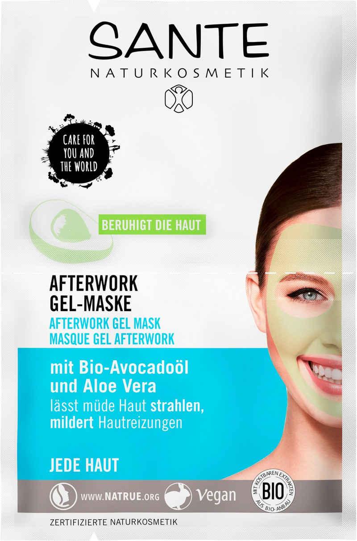 SANTE Gesichtsmaske »Afterwork Gel-Maske«