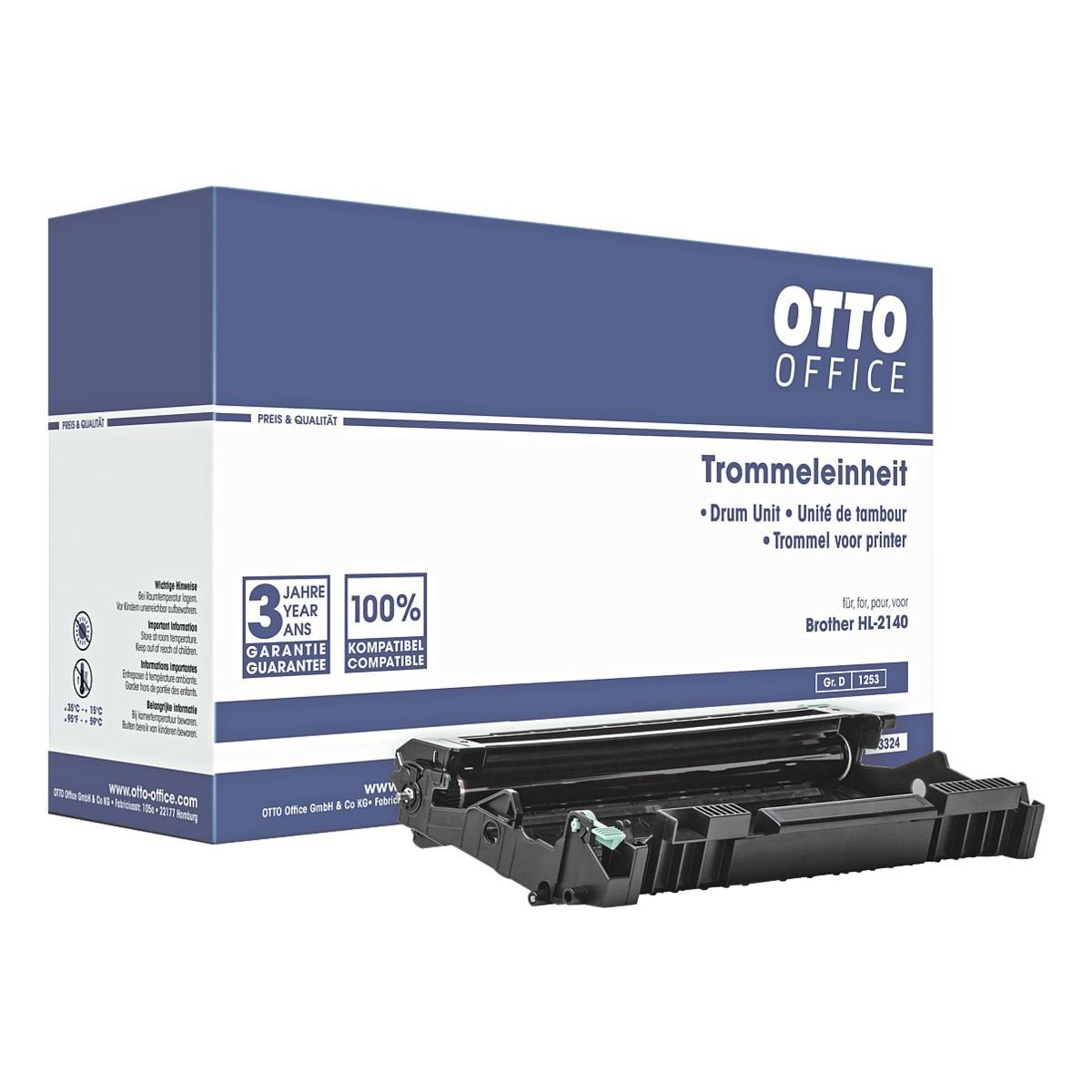 OTTO Office Trommel (ohne Toner) ersetzt Brother »DR-2100«