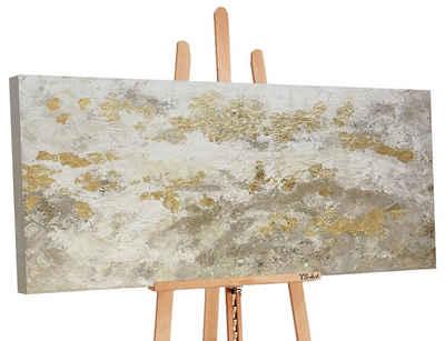 YS-Art Gemälde »Glänzendes Gold«