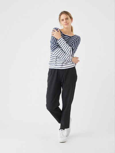 Cleptomanicx Sweatshirt »Horizons« im gestreiften Design