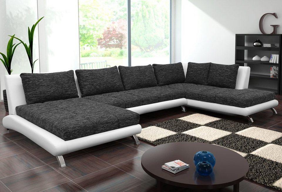 wohnlandschaft online kaufen otto. Black Bedroom Furniture Sets. Home Design Ideas