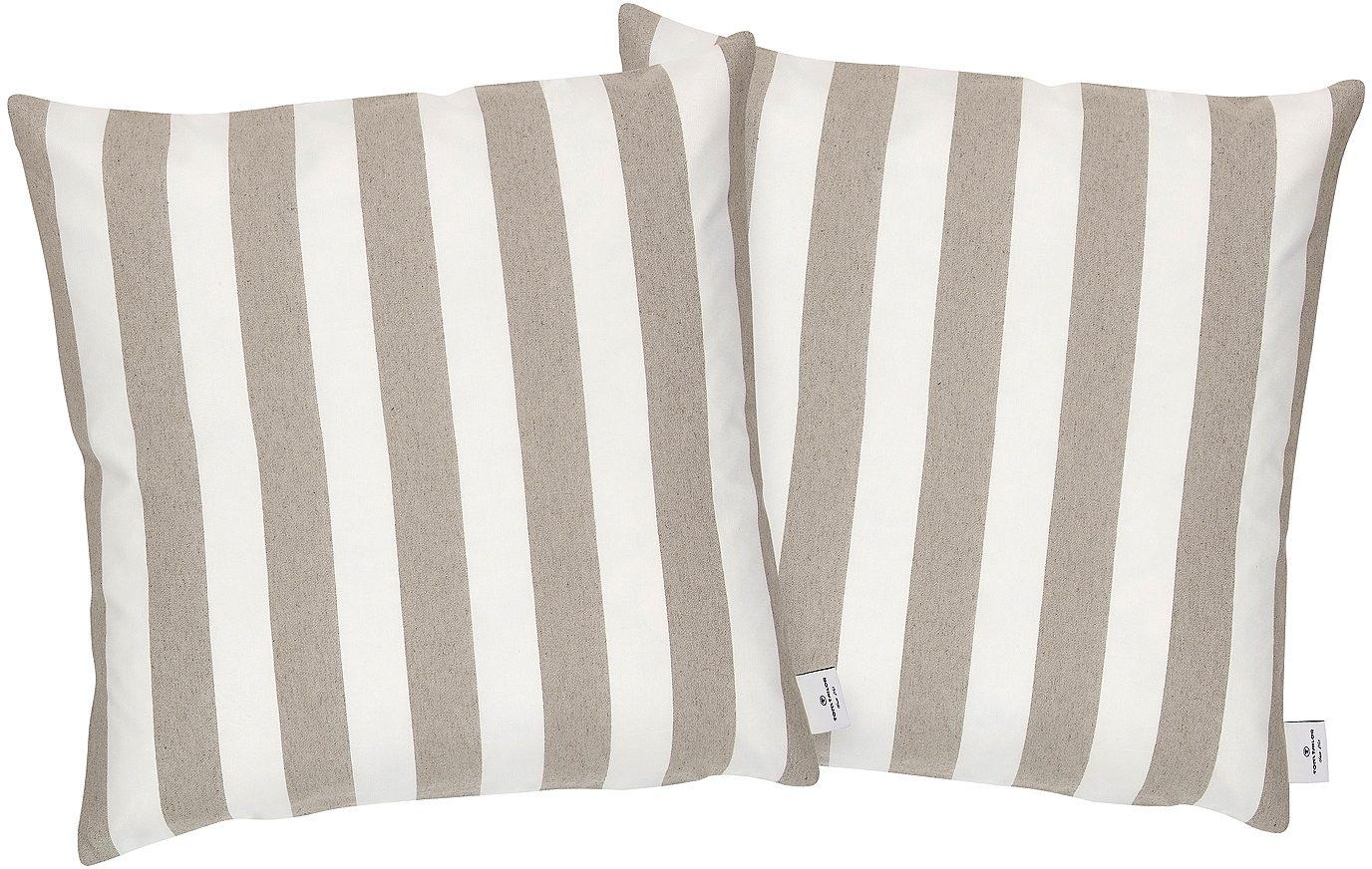 Kissenhülle, Tom Tailor Casual Home, »Block Stripes« (2 Stck.)