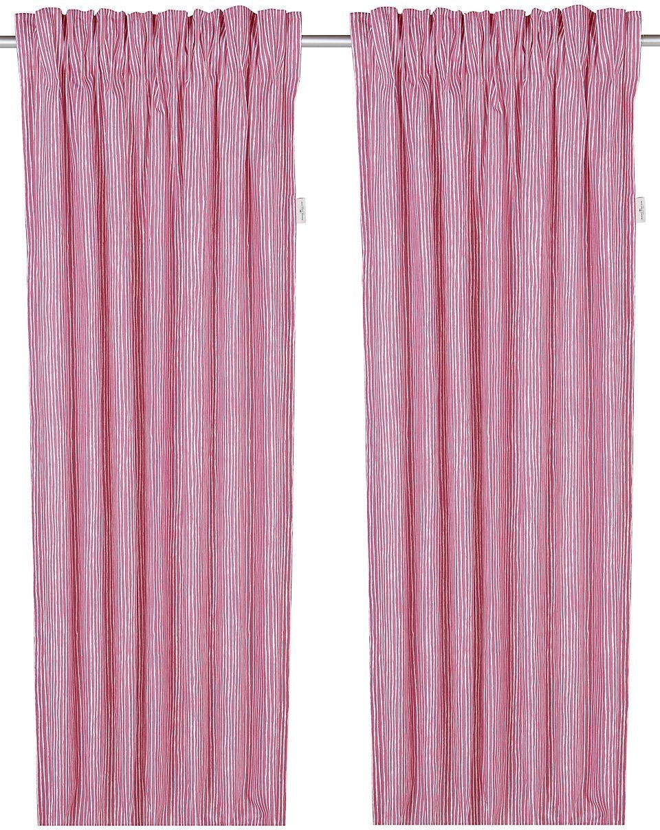 Vorhang, Tom Tailor, »Painted Stripes«, mit Klettband (1 Stück)