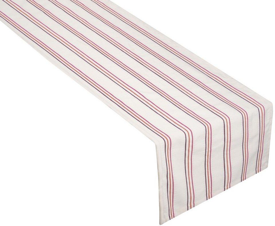 Tischläufer, Tom Tailor, »Goose« (1er Pack) in pink/orange