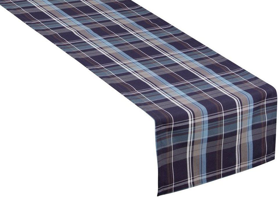 Tischläufer, Tom Tailor, »New Check« (1er Pack) in blau